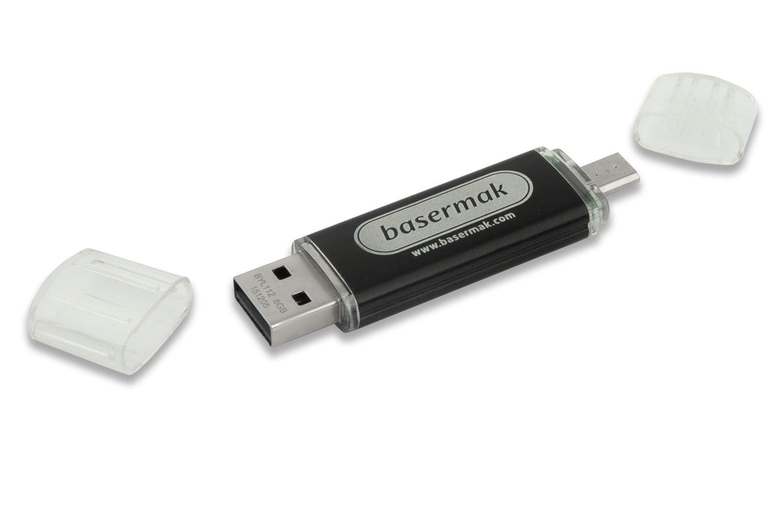 Cep Telefonu Uyumlu Flash Bellek 16 GB (OTG) Siyah
