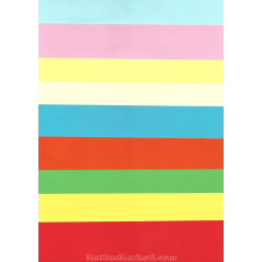 250'lik Karışık Renkli A4 Sinarspectra Kağıt
