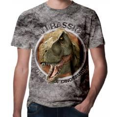 Jurassic Park Dinazor Baskılı 3D Tişört-1509 Jura 1
