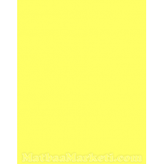 Sarı Renk IT 210 Fon Kartonu 50x70 Cm 120 Gr