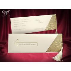 Style Lüks Düğün Kartı 3637