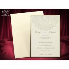 Style Lüks Düğün Kartı 3641
