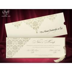 Style Lüks Düğün Kartı 3678