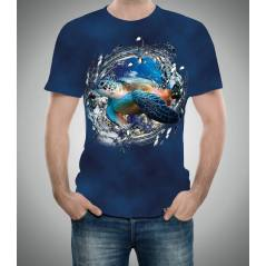 Caretta Desenli 3D Tişört