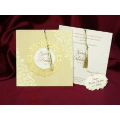 Style Lüks Düğün Kartı 3704