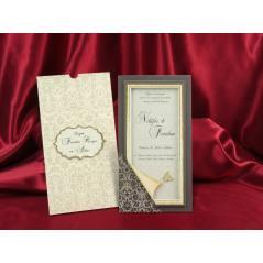Style Lüks Düğün Kartı 3709