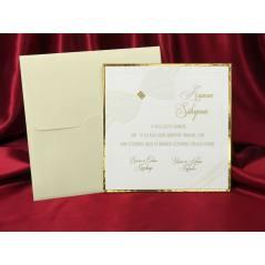 Style Lüks Düğün Kartı 3710