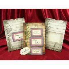 Style Lüks Düğün Kartı 3713