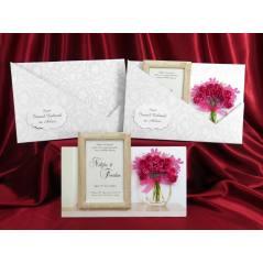 Style Lüks Düğün Kartı 3714