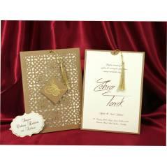 Style Lüks Düğün Kartı 3715