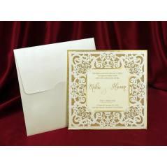Style Lüks Düğün Kartı 3727