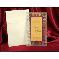 Style Lüks Düğün Kartı 3731