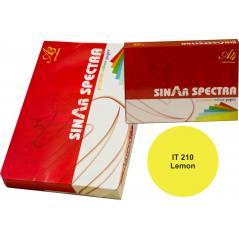 Limon Sarısı Renk A4 Sinarspectra Kağıt 500 Yaprak IT-210
