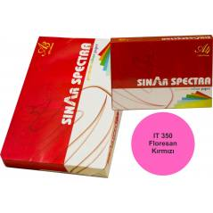 Floresan Kırmızı A4 Sinarspectra Kağıt 500 Yaprak IT-350