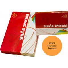 Floresan Turuncu A4 Sinarspectra Kağıt 500 Yaprak IT-371