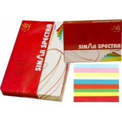 Karışık Renkli A4 Sinarspectra Kağıt 250 Yaprak