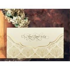 Desenli düğün kartı - Concept 5515