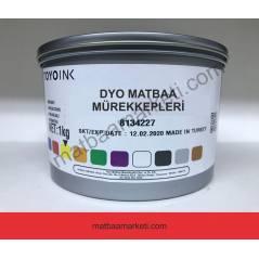 Dyo Toyo 032C Kırmızı Matbaa Mürekkebi - AN-3604 - 1Kg
