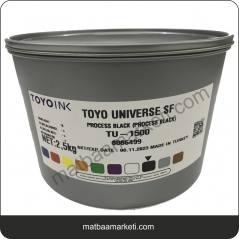 Dyo Toyo Universe Siyah Matbaa Boyası - TU Serisi -1 Kg