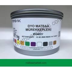 Dyo Toyo Yeşil 3300 Matbaa Mürekkebi - 1Kg