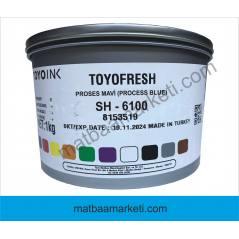Dyo Fresh Mavi Matbaa Boyası - SH Serisi - 6100 - 1 Kg