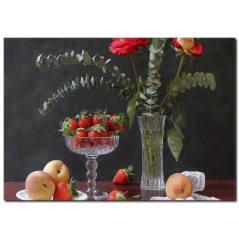 Meyve Detaylı Kanvas Tablo