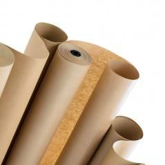 Kraft Bobin Kağıt 80 Cm Boy 250 Metre Sarım - 70 Gsm/m2