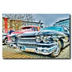 Nostalji Araba Temalı Kanvas Tablo CC1001