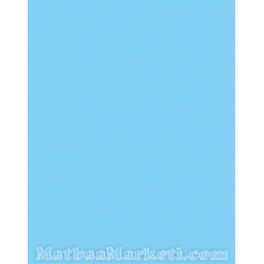 Mavi Renk IT 120 Fon Kartonu 50x70 Cm 120 Gr