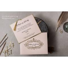Wedding Davetiye 8314