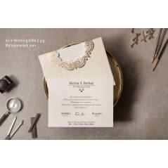Wedding Davetiye 8386