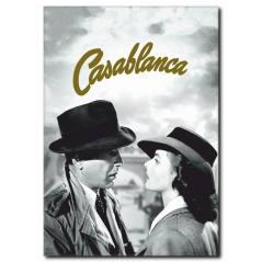 Casablanca Film Afişi Kanvas Tablo