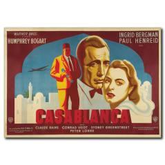 Renkli Casablanca Film Afişi