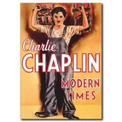 Charlie Chaplin Renkli Film Afişi