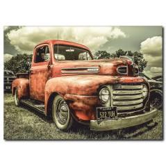 Vintage Kanvas Tablo