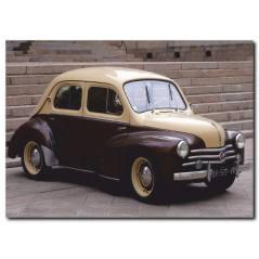 Küçük Nostaljik Araba Kanvas Tablo CC1034