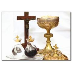 Kutsal Haç Temalı Tablo