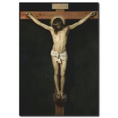 İsa Çarmıha Gerildi Kanvas Tablo