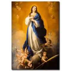 Meryemin Kusursuz Hamileliği Kanvas Tablo