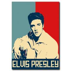 Elvis Presley Pop Art Kanvas Tablo