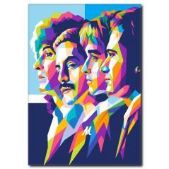 Queen Pop Art Kanvas Tablo PP-1019