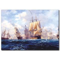 Yelkenli Gemi Yağlı Boya Tablo