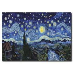 Van Gogh Starry Night Kanvas Tablo
