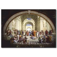 The School of Athens Kanvas Tablo