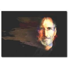 Steve Jobs Kanvas Tablo