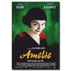 Amelie Film Poster Tablo