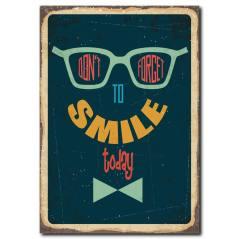 Gülümsemeyi Unutma Kanvas Tablo