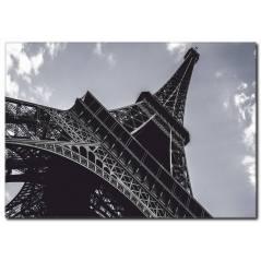 Eyfel Kulesi Siyah Beyaz Tablo
