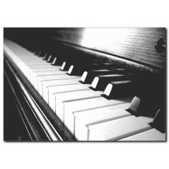 Piyano Tuşları Kanvas Tablo