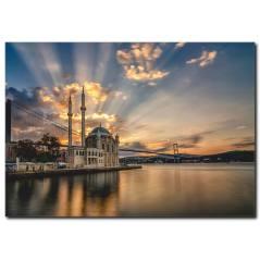 Ortaköy Manzaralı Kanvas Tablo